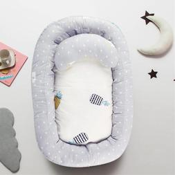 Portable Baby Nest Bed Removable Travel Crib Nursery Infant