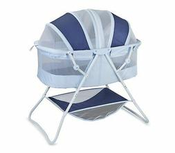 Portable Baby Rocking Bassinet Functional & with Protective