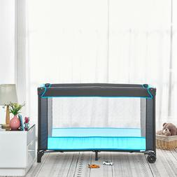 portable baby travel cot crib bassinet bed