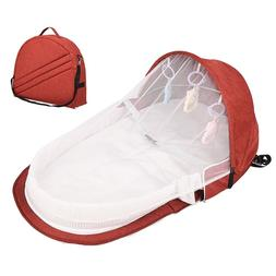 Portable <font><b>Bassinet</b></font> For Baby Bed Travel Fo
