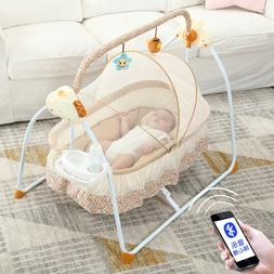 Portable Hang Baby Sleeping Basket Crib Netting Newborn Baby