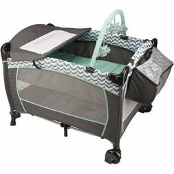 Portable Playard Playpen Folding Baby Toddler Infant Basinet