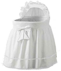 Babydoll Bedding Precious Bassinet Liner/Skirt & Hood Color: