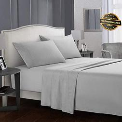 Gatton Premium New Queen Sheets Count 4 Piece Bed Sheets Set