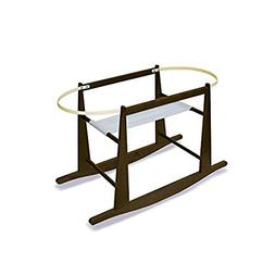Jolly Jumper Rocking Moses Basket Stand Chocolate