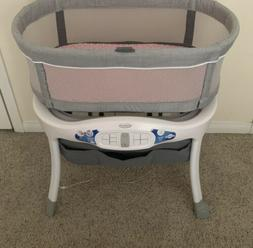Graco Sense2Snooze Bassinet with Cry Detection Technology -
