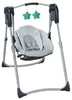 Graco Slim Spaces Baby Swing in Basin Brand New Free Shippin