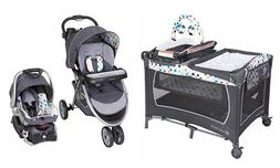 Baby Trend Stroller Car Seat Playard Bassinet Travel System
