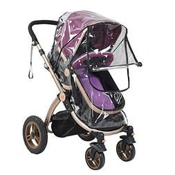Hothuimin Baby Stroller Rain Cover, 3-in-1 Infant Car Seat C