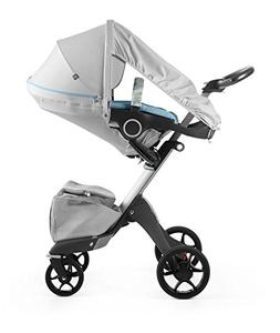 Stokke Stroller Summer Kit, Flora Blue
