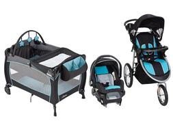 Baby Trend Stroller with Car Seat Evenflo Set