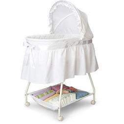 Delta Children's Products Sweet Beginnings Bassinet, White
