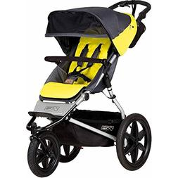 Mountain Buggy Terrain Jogging Stroller - Onyx with Diaper B