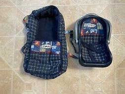 Graco Toy Doll Car Seat & Soft Bassinet Excellent!