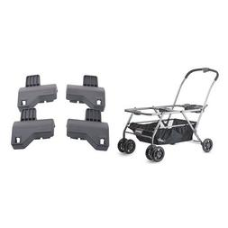 JOOVY Twin Roo+ Car Seat Stroller and Twin Roo Car Seat Adap