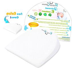 Universal Bassinet Wedge Baby Pillow | Side Pregnancy Pillow