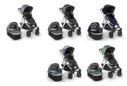 UPPAbaby VISTA 2018 - With Bassinet, New genuine leather han
