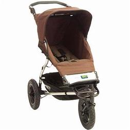 Urban Single Jogging Stroller - Chocolate Dot