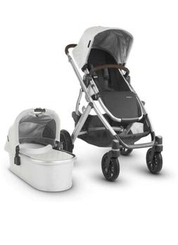 UPPAbaby VISTA 2019 Stroller With Bassinet, Bryce/White