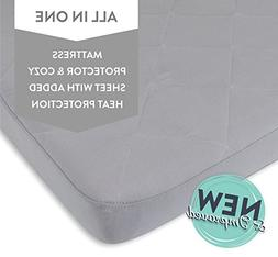Waterproof Cotton Quilted Pack n Play Sheet   Mini Crib Shee