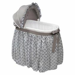 Badger Basket Wishes Oval Lantern Bassinet