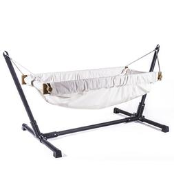 Wooden organic raw fabric baby bassinet bedding hammock for